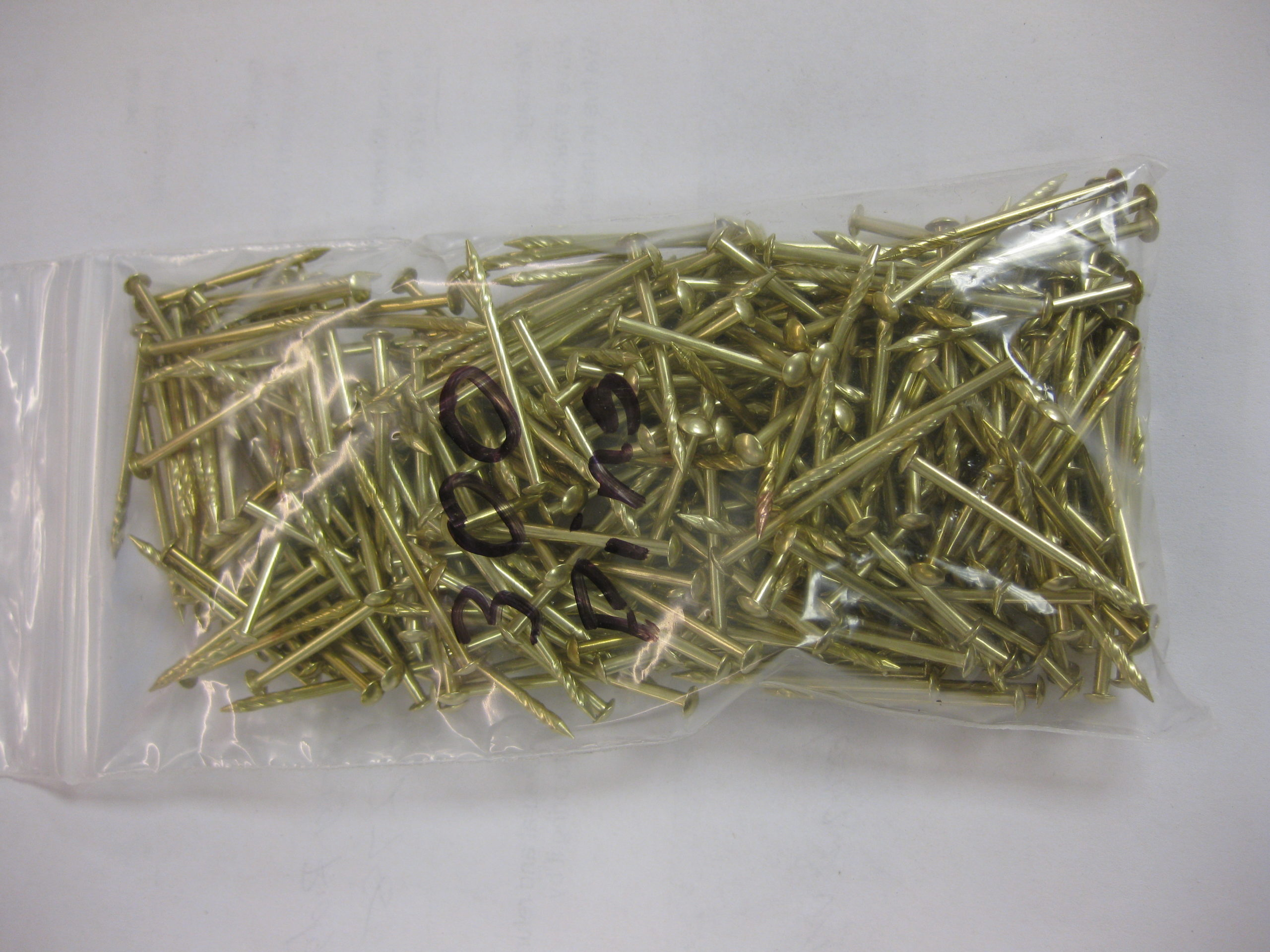 300 Used Playfield Pins- Polished
